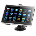 "7"" Touch WinCE 6.0 600MHz GPS Navigator FM/Game/E-book/4GB Internal USA Map (White)"