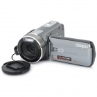"HDV-S590 5MP Digital Video Camcorder w / 120x digitaler Zoom / TV-Out / HDMI / SD-(3 ""Touch Screen)"