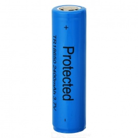 Ultrafire 2400mAh 3.7V Protected 18650 Rechargeable Batteries