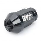 Light Weight D1 Spec Racing Wheel Lug Nuts - Black (20-Piece Pack)
