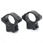 25mm Gun Mount for Flashlights and Lasers (Pair)