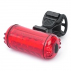 5-LED 3-Mode Red Light Bicycle Safety Tail Light (2 x AAA)