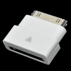 30 Pin Dock Extender for iPad 1 / 2 / New iPad / iPhone 3GS / 4 / 4S / iPod Series - White
