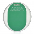 "2-in-1 1.8"" LCD Round 8-Digit Calculator + Mouse Mat Pad - Green + Silver (1 x AG10)"