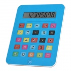 "2-in-1 5.0"" LCD iPad Style 8-Digit Calculator + Mouse Mat Pad - Blue (1 x AG10)"