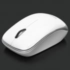 Bondidea S007 2.4G 1000 ~ 1600DPI Wireless Optical Mouse - Weiss