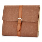 Stylish PU Leather Case for Ipad 2 - Brown