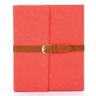 Stylish PU Leather Case for Ipad 2 - Red