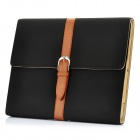 Stylish PU Leather Case for Ipad 2 - Black