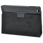 Stylish Protective Holder Leather Case for The New Ipad - Black