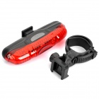3-Mode 5-LED Red Light Bike Safety Tail Lamp (2 x AAA)