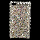 Fashion Acrylic Diamond Protective Back Case for Ipod Touch 4 - Silver