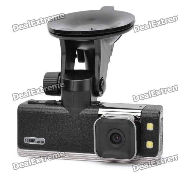 "1.5"" LCD Full HD 1080P Car DVR Video Recorder with GPS/Google Map/G-sensor/HDMI/AV OUT TF"