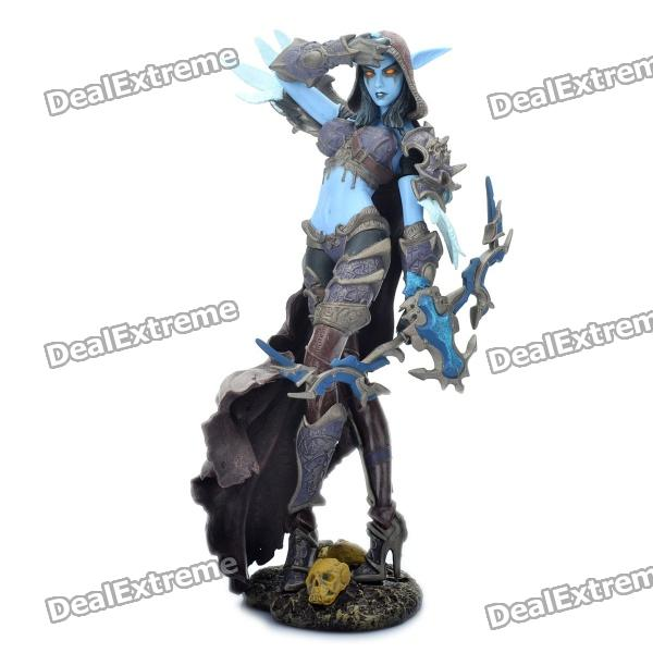 World of Warcraft WOW PVC Action Figure Display Toy Doll - Forsaken Queen Sylvanas Windrunner world of warcraft wow pvc action figure display toy doll forsaken queen sylvanas windrunner