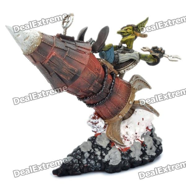 World of Warcraft WOW PVC Action Figure Display Toy - Goblin Tinker Gibzz Sparklighter world of warcraft wow pvc action figure display toy doll forsaken queen sylvanas windrunner