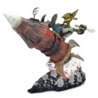 World of Warcraft WOW PVC Action Figure Display Toy - Goblin Tinker Gibzz Sparklighter