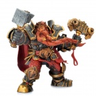 World of Warcraft WOW PVC Action Figure Display Toy Doll - Dwarven King Magni Bronzebeard