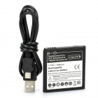 Replacement 3.7V 1600mAh Battery w/ USB Cable for HTC Sensation 4G / G14 / Sensation XE / G18 + More
