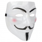 V for Vendetta Anonymous Guy Fawkes Plastic Mask - White