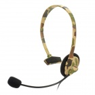 Designer's Headset w/ Microphone for Xbox 360 - Camouflage Grey