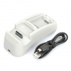 USB Powered 2-in-1 Charging Dock Station for Xbox 360 Wireless Controller & Battery