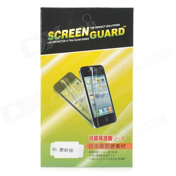 Protective Clear Screen Protector Guard Film with Cleaning Cloth for Iphone 4 / 4S стоимость