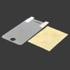 Protective Clear Screen Protector Guard Film with Cleaning Cloth for Iphone 4 / 4S