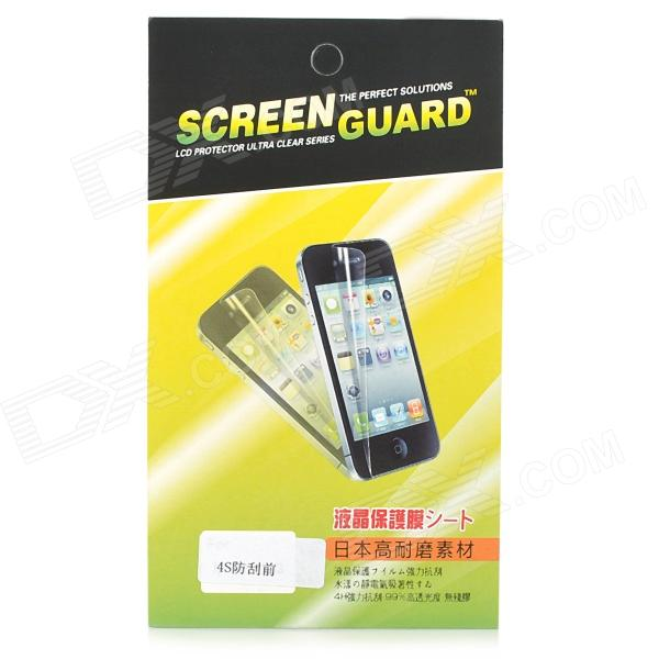 Glossy PET Screen Protector Guard for Iphone 4 / 4S matte aa grade pet screen protector for iphone 4 4s