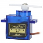 TowerPro SG90 9G Mini Servo with Accessories - Blue