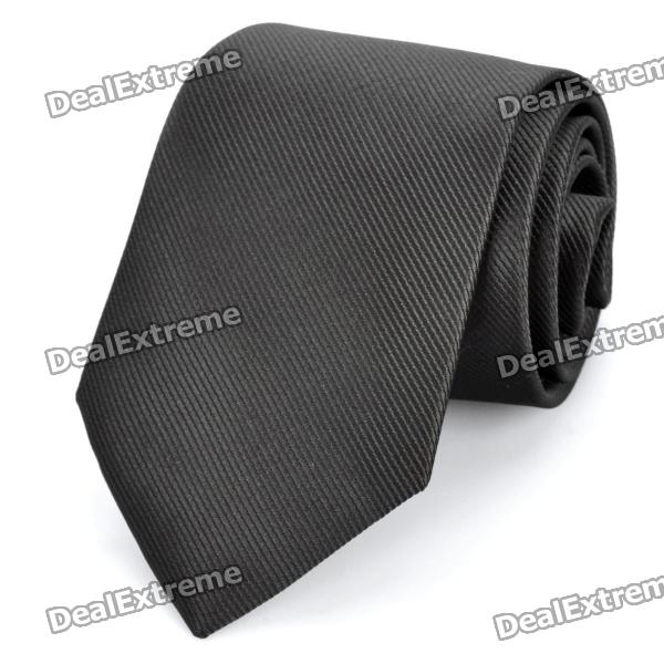 fashion-slim-tie-narrow-necktie-black