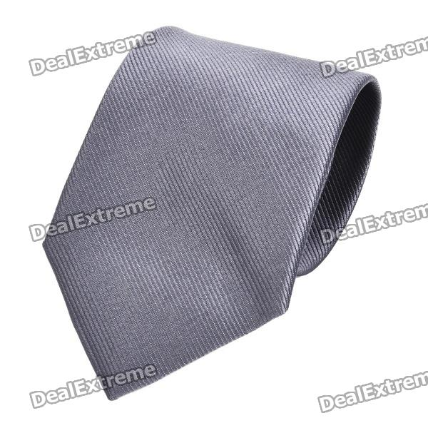 fashion-slim-tie-narrow-necktie-grey