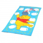 Cute Winnie the Pooh Pattern Bath Beach Towel - Blue + Yellow (140 x 70cm)