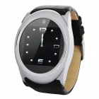 "GD777 GSM Watch Phone w/ 1.4"" Resistive Screen, Single SIM, Quadband, Java and FM - Black + Silver"