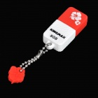 Genuine KINGMAX Cute Drive Mini USB 2.0 Flash Drive - Red (8GB)