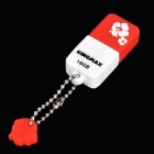 Genuine KINGMAX Cute Drive Mini USB 2.0 Flash Drive - Red (16GB)