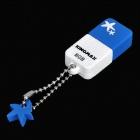 Genuine KINGMAX Cute Drive Mini USB 2.0 Flash Drive - Blue (8GB)