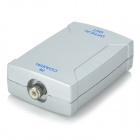 Coaxial to Optical Converter Adapter - Silver