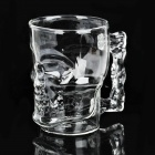 Creative Crystal Skull Style Glass Cup - Transparent (500ml)