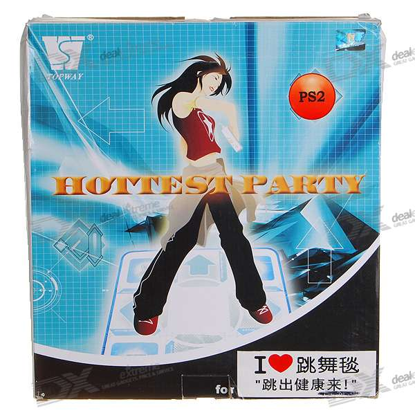 Dance Performance II DDR Mat Controller for PS2