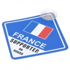 UEFA Euro 2012 National Football Team Badge Car Suction Cup Decoration Board - French