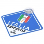UEFA Euro 2012 National Football Team Badge Car Suction Cup Decoration Board - Italy