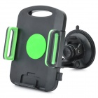 Universal Swivel Suction Cup Car Mount Holder for iPad Series + More - Black
