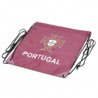 UEFA Euro 2012 National Football Team Badge Football / Soccer Drawstring Closure Bag - Portugal