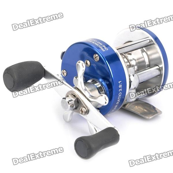 Professional Spinning Fishing Reel - Silver + Blue professional spinning fishing reel