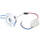 1W 2500K 100lm 1-LED Warm White Light Down Deckenleuchte (AC 89-265V)