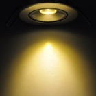 1W 2500K 100LM 1-LED Warm White Light Down Ceiling Lamp (AC 89-265V)