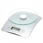 "1.9"" LCD Digital Kitchen Scale (5kg Max/CR2032)"