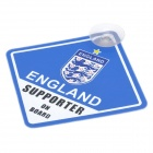 UEFA Euro 2012 National Football Team Badge Car Suction Cup Decoration Board - England