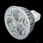 GU5.3 3W 280LM 2800~3500K 3-LED Warm White Light Lamp Spotlight
