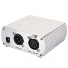 PM-5 Low-Noise Phantom Power Supply for Condenser Microphones - Silver